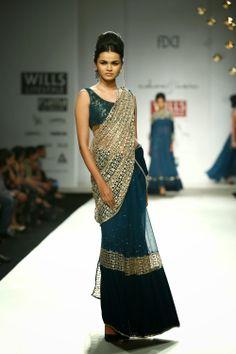Rabani & Rakha Show at Wills Lifestyle India Fashion Week 2014