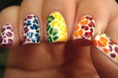 rainbow leopard!