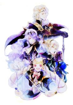 Fire Emblem: Fates - Nohrian royal family