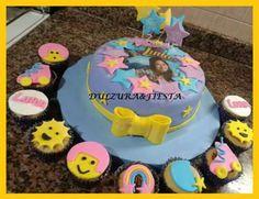 torta soy luna cupcakes  souvenirs galletas x 10  lanús