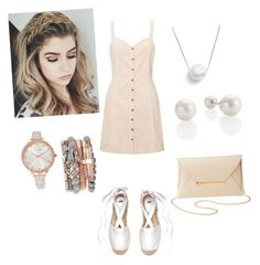 """""""Untitled #6"""" by mayraapariciop ❤ liked on Polyvore featuring Miss Selfridge, Jessica Carlyle, Chan Luu and Charlotte Russe"""