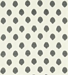 A coloured spot on a pale background, created using hand-dyed ikat weave techniques. Scion, Wabi Sabi, Ikat, Weave, Interiors, Autumn, Trends, Winter, Fabric