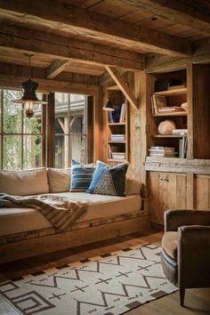 23 Wild Log Cabin Decor Ideas -