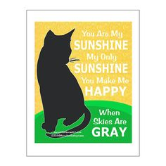 Hey, I found this really awesome Etsy listing at https://www.etsy.com/listing/175248065/cat-print-cat-poster-cat-art-you-are-my