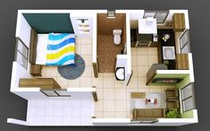 isometric views small house plans kerala home design why edraw the easiest software plan try free House Layout Design, Small House Layout, Simple House Design, Small House Plans, House Layouts, House Floor Plans, Bathroom Design Software, Home Design Software, Home Design Plans