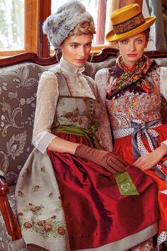 Blusendirndl - Beige - sportalm.at   Sportalm Traditional German Clothing, Traditional Dresses, Fashion Models, Fashion Beauty, Fashion Looks, Womens Fashion, Drindl Dress, The Dress, German Fashion