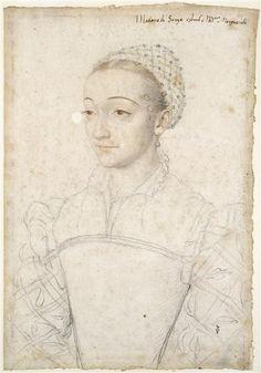 Portrait de Marguerite de France, fille de François I, duchesse de Savoie, par François Clouet