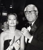 Cary Grant and Barbara Harris during March Of Dimes Dinner at Beverly Hilton Hotel at Beverly Hilton Hotel in Beverly Hills, California, United States. (Photo by Ron Galella/WireImage) Jan 30, 1979. Barbara was his 5th and last wife. They were married from 1981 until his death on Nov 29, 1986.