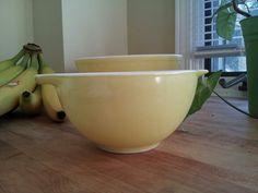 Yellow cinderella bowl