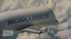 CNN's Rosie Tomkins explores the the striking Airbus Beluga which transports components of Airbus aircrafts around the world.