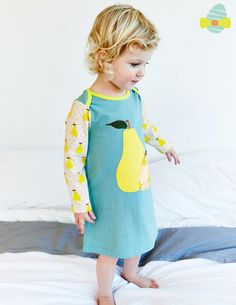 Appliqué Jersey Dress 73148 Dresses at Boden #Boden #Easter #Miniboden