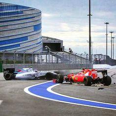 Hamilton wins Vettel P2 Perez P3 after THIS collision between Raikkonen and Bottas! #RussianGP #F1Sochi #F1 #KimiRaikkonen #ValtteriBottas by f1