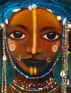 """Wodaabe Beads"" by Jason Adamson"