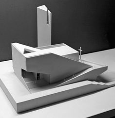 Galerie in Bearbeitung: Pan Long Gu Church / Atelier 11 14 Architecture and design Architecture Model Making, Church Architecture, Religious Architecture, Concept Architecture, Interior Architecture, Architecture Diagrams, Architecture Portfolio, Angular Architecture, Beautiful Architecture