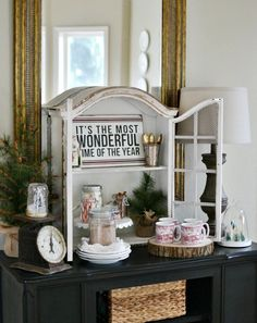 Simple Christmas Ideas and Inspiration - At The Picket Fence Christmas Decorations For The Home, Merry Christmas To All, Cozy Christmas, Christmas Music, Simple Christmas, Christmas Holidays, Christmas Crafts, Holiday Decor, Christmas Ideas