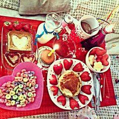 para el desayuno