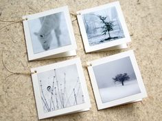 Photo gift cards
