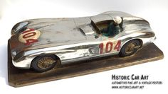 1955 Targa Florio winning Mercedes-Benz 300SLR