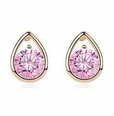 Beautiful Heart Rhinestone Fashion Earrings   LilyFair Jewelry, $19.99!