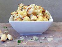 Roasted Parmesan Garlic Cauliflower