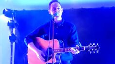 """Roddy plays a """"new"""" song from his encore at Kelvingrove Bandstand in Glasgow on Friday 80s Hits, News Songs, Glasgow, Aztec, Concert, Frame, Music, Collection, Picture Frame"""