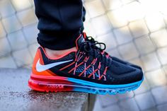 "Nike Air Max 2015 ""Blue Lagoon & Bright Crimson"""