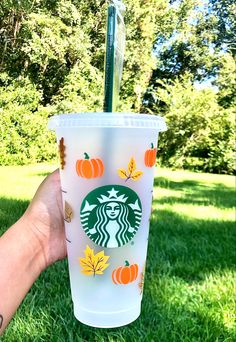 Starbucks Tumbler Cup, Starbucks Cup Art, Personalized Starbucks Cup, Custom Starbucks Cup, Starbucks Drinks, Personalized Cups, Halloween Cups, Reusable Cup, Custom Cups