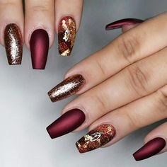 Maroon Nail Designs Pictures maroon nails will make a queen out of you Maroon Nail Designs. Here is Maroon Nail Designs Pictures for you. Maroon Nail Designs burgundy nail art design home decor in 2019 strass. Maroon Nail Designs, New Nail Designs, Acrylic Nail Designs, Prom Nails, Wedding Nails, Fun Nails, Matte Maroon Nails, Burgundy Nails, Matte Nails