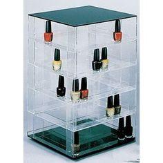 Nail Polish Rack Display Rotating Fits up to 140 Bottles