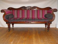 William IV Sofa upholstered by Liberty Rose Interiors