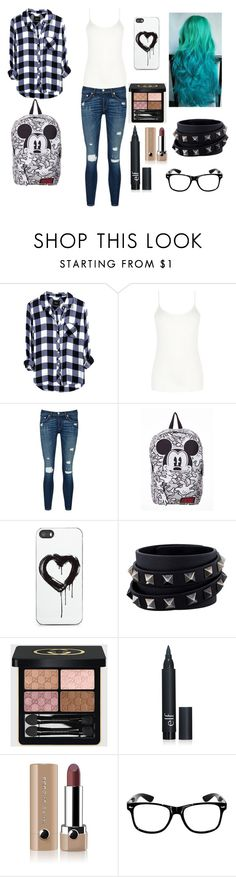 """""""476"""" by emilygrace139 on Polyvore featuring косметика, Oasis, rag & bone/JEAN, Zero Gravity, Valentino, Gucci и Marc Jacobs"""