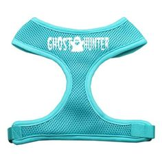 Mirage Pet Products Ghost Hunter Design Soft Mesh Dog Harnesses, Small, Aqua ** Check out this great product. (This is an affiliate link and I receive a commission for the sales) #Doggies