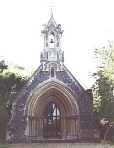 Chapel on the grounds of St. Heath's Row, where Victoria and Phillip married