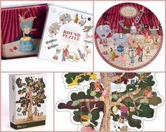 Día 9: puzzles de Londji. Maravillosas ilustraciones para amar la belleza...