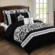 Perfect for guest room and then add a pop of color with other accessories in the bedroom!