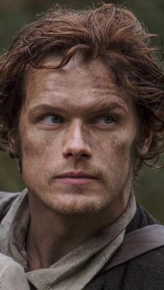 Love that look on Jamie's face, so determined. Epi 1 Sassenach.