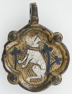 Harness Pendant, 13th–early 15th century. Possibly Spanish. The Metropolitan Museum of Art, New York. Rogers Fund, 1904 (04.3.409)