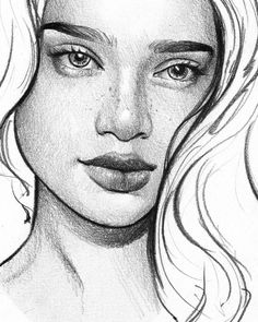 WANT A FEATURE ?   CLICK LINK IN MY PROFILE !!!    Tag  #LADYTEREZIE   Repost from @ts_abe   #CLOSEUP The quick @leulahleaf in a more comic style of sketching lots of fun  via http://instagram.com/ladyterezie