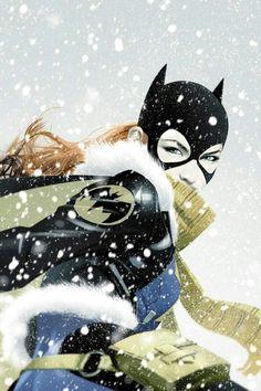 Batgirl #20 capa variante de Joshua Middleton.