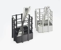 Soho Flatware Display Item: 1544-13 and 1544-74. Keep your flatware organized and separated with these flatware holders. http://www.calmil.com/index.php?page=shop.product_details&flypage=flypage.tpl&category_id=23&product_id=490&option=com_virtuemart&Itemid=71