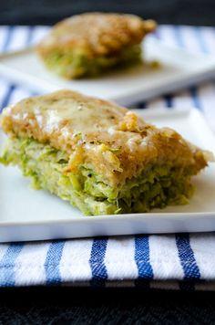 Skinny Zucchini Casserole   giverecipe.com   #zucchini #casserole #vegetarian…