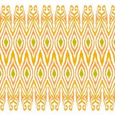 Ikat Tangerine by Amy Sia Textile Prints, Textile Design, Art Prints, Ikat Print, Pretty Patterns, Wedding Website, Pattern Design, Amy, Wallpaper
