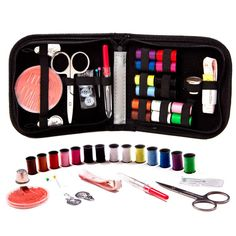 Travel Sewing Kit Set Needle and Thread Kit 68pcs Sewing Accessories Needles