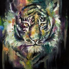 Katy Jade Dobson - Siberian Snow Tiger