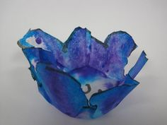 Love Chihuly- looking for project ideas.  This a coffee filter version.  I have seen the plastic Dura-lar from Dick Blick too...