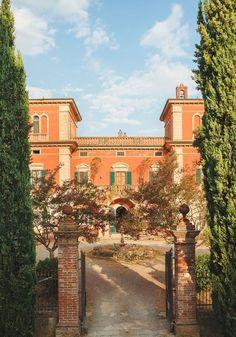 Villa Lena, Tuscany,