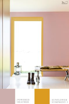 """""""The colour palette captures the sun scorched feel of the Arizona desert; vast and intimidating yet strikingly beautiful."""" - Rebecca Williamson, Senior Colour & Design Manager"""