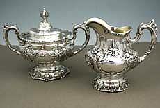 Reed & Barton...Francis 1st...Sterling creamer and sugar bowl