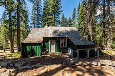 This is a 500 square foot forest service cabin that's for sale in Twin Bridges, California. It offers two bedrooms, one bathroom, and is being offered at $120,000. Please enjoy, learn more, a…