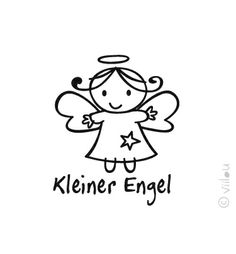Engel Velours Applikation Aufbügler Angel pimp from viilou   by DaWanda.com